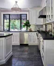 014 luxury black and white kitchen design ideas