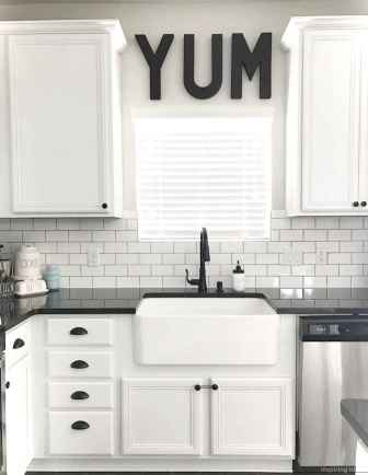 019 awesome modern farmhouse kitchen cabinets ideas