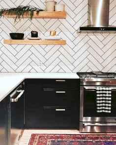 046 luxury black and white kitchen design ideas