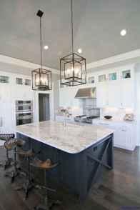 048 luxury black and white kitchen design ideas