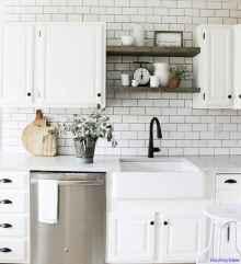 054 luxury black and white kitchen design ideas