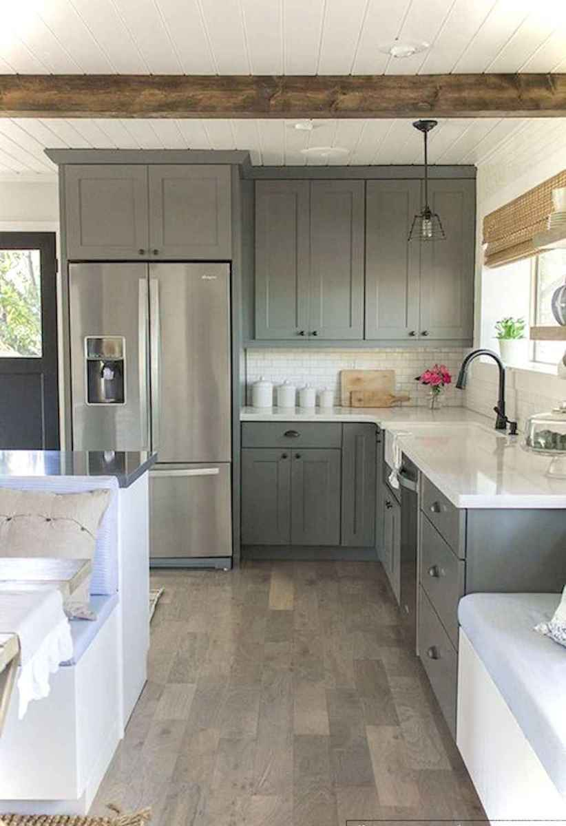 062 awesome modern farmhouse kitchen cabinets ideas