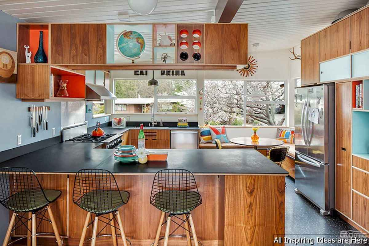 16 Gorgeous Midcentury Modern Kitchen Decorating Ideas Room A Holic