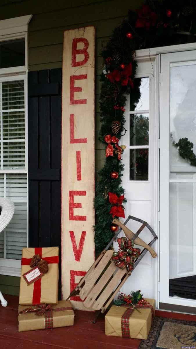 Beautiful 11 christmas porch decor ideas