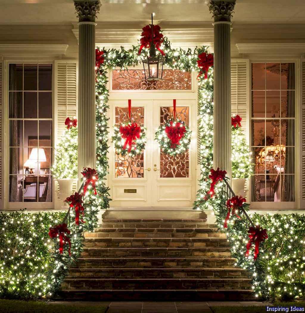 Beautiful 17 christmas porch decor ideas