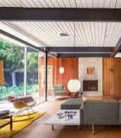 Cozy midcentury living room 34 ideas