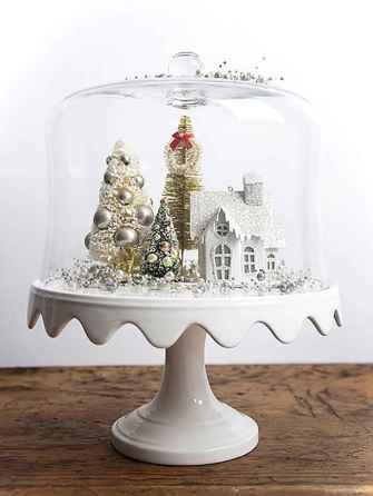 Joyful christmas decorations ideas for apartment 47