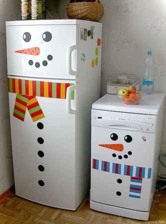 Joyful christmas decorations ideas for apartment 48