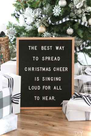 Joyful christmas decorations ideas for apartment 49