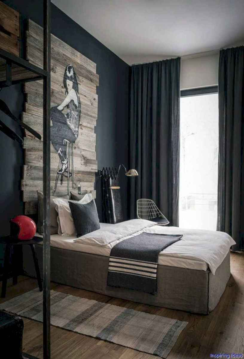 Masculine apartment decorating ideas for men 61