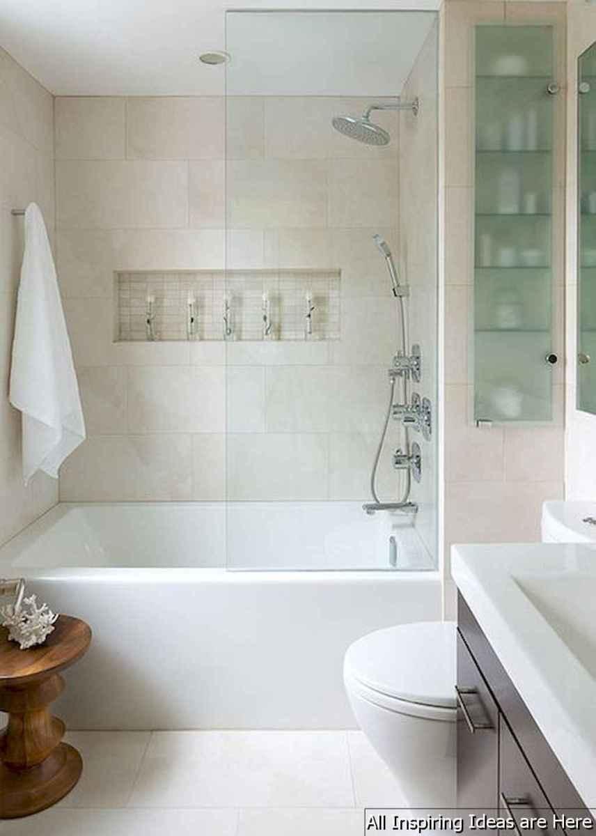 Minimalist modern farmhouse small bathroom decor ideas 12