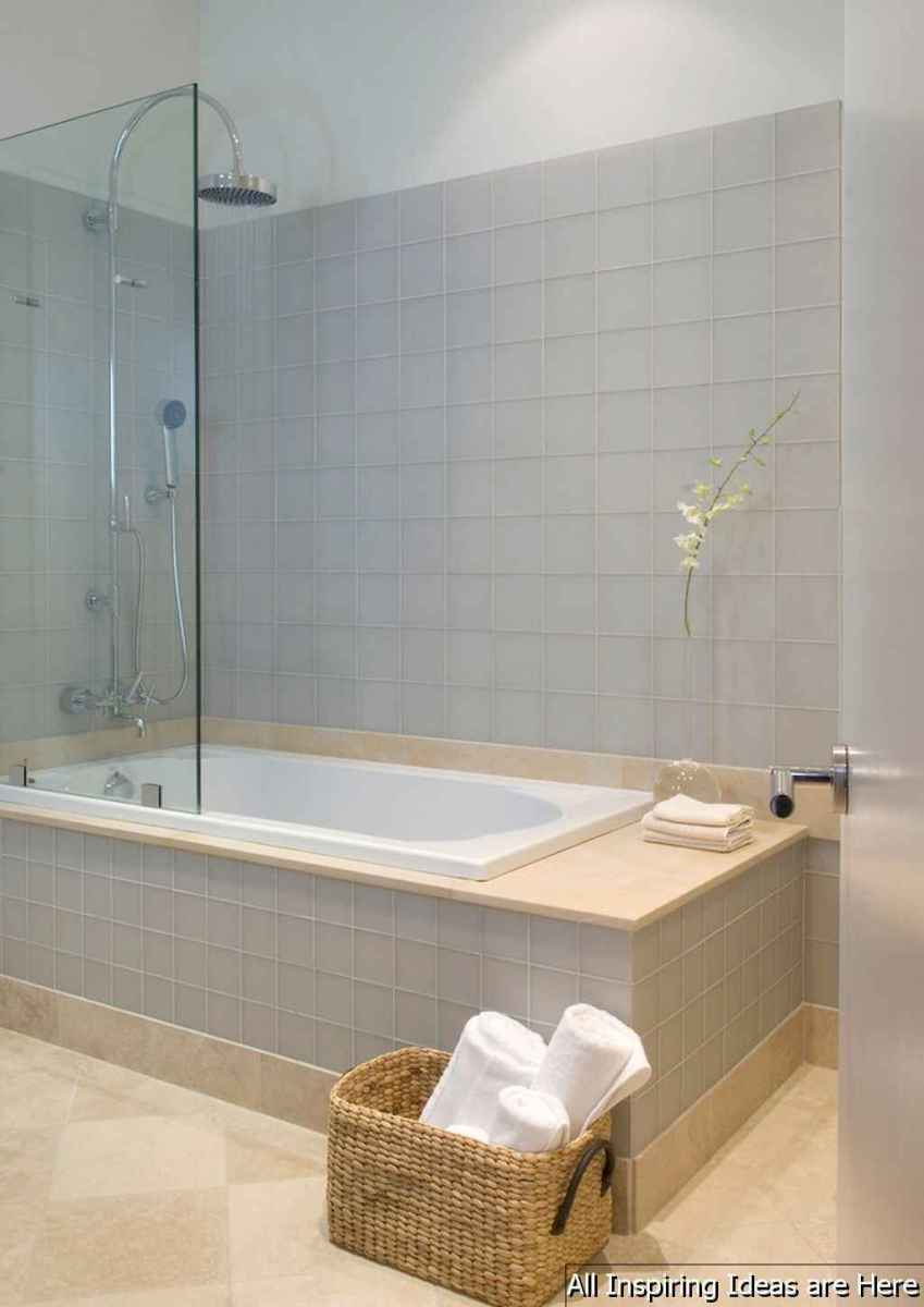 Minimalist modern farmhouse small bathroom decor ideas 14