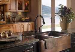 Modern farmhouse kitchen sink 45 ideas
