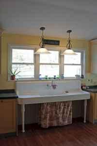 Modern farmhouse kitchen sink 56 ideas