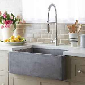 Modern farmhouse kitchen sink 57 ideas