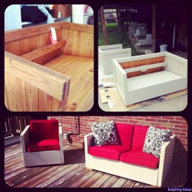 Outdoor 12 rocking chairs project ideas for patio