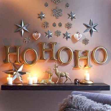 Simple christmas decorations ideas for the home 12