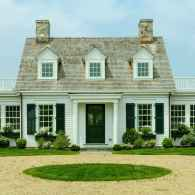 Traditional cape cod house exterior ideas 009