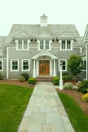 Traditional cape cod house exterior ideas 017
