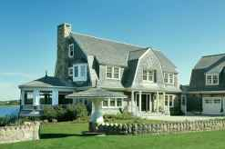 Traditional cape cod house exterior ideas 031