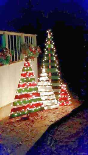 0026 peaceful christmas outdoor decorations ideas