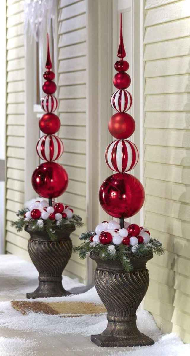 0035 peaceful christmas outdoor decorations ideas