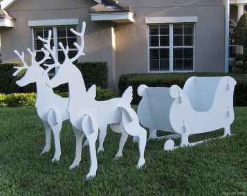 0039 peaceful christmas outdoor decorations ideas