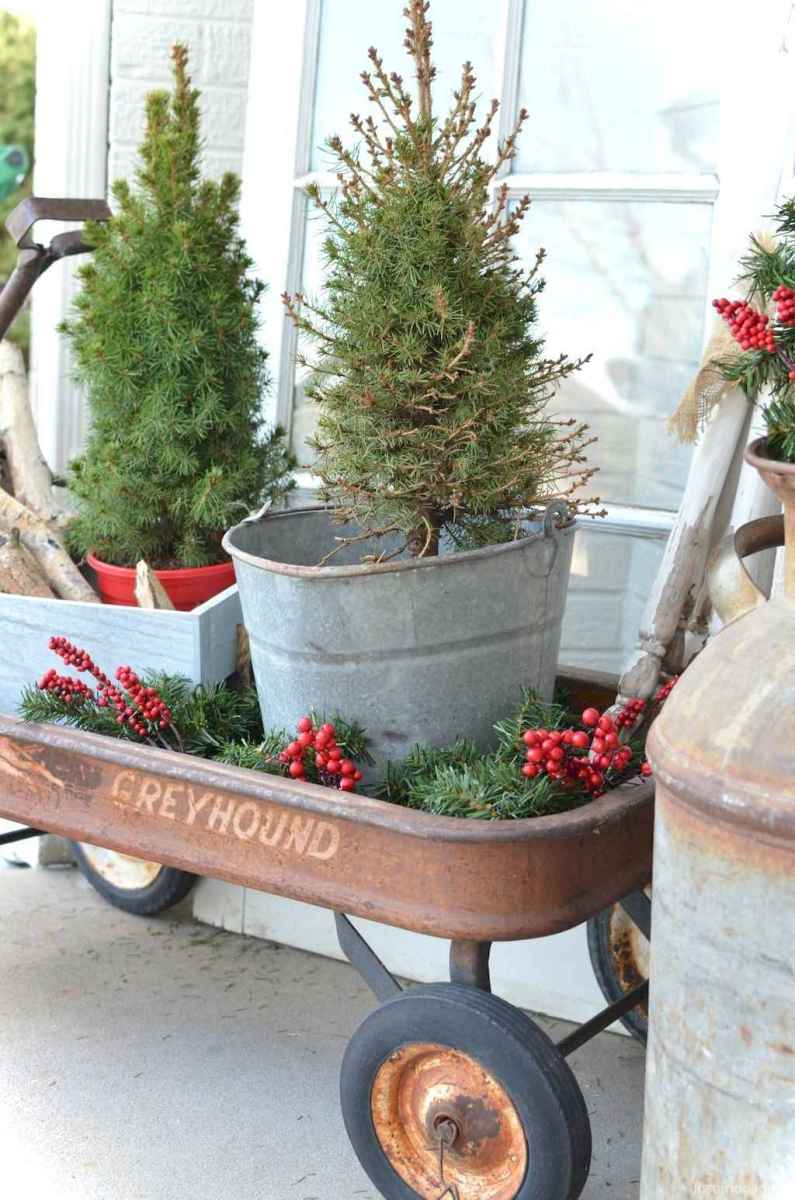 0039 rustic christmas decorations ideas