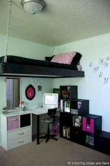 0040 interesting small loft bedroom design ideas