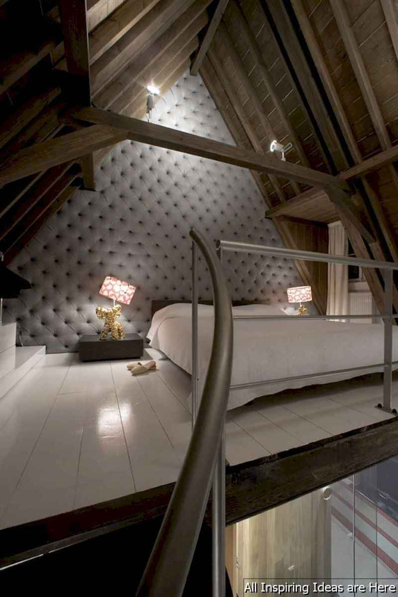 0041 stunning loft bedroom design ideas