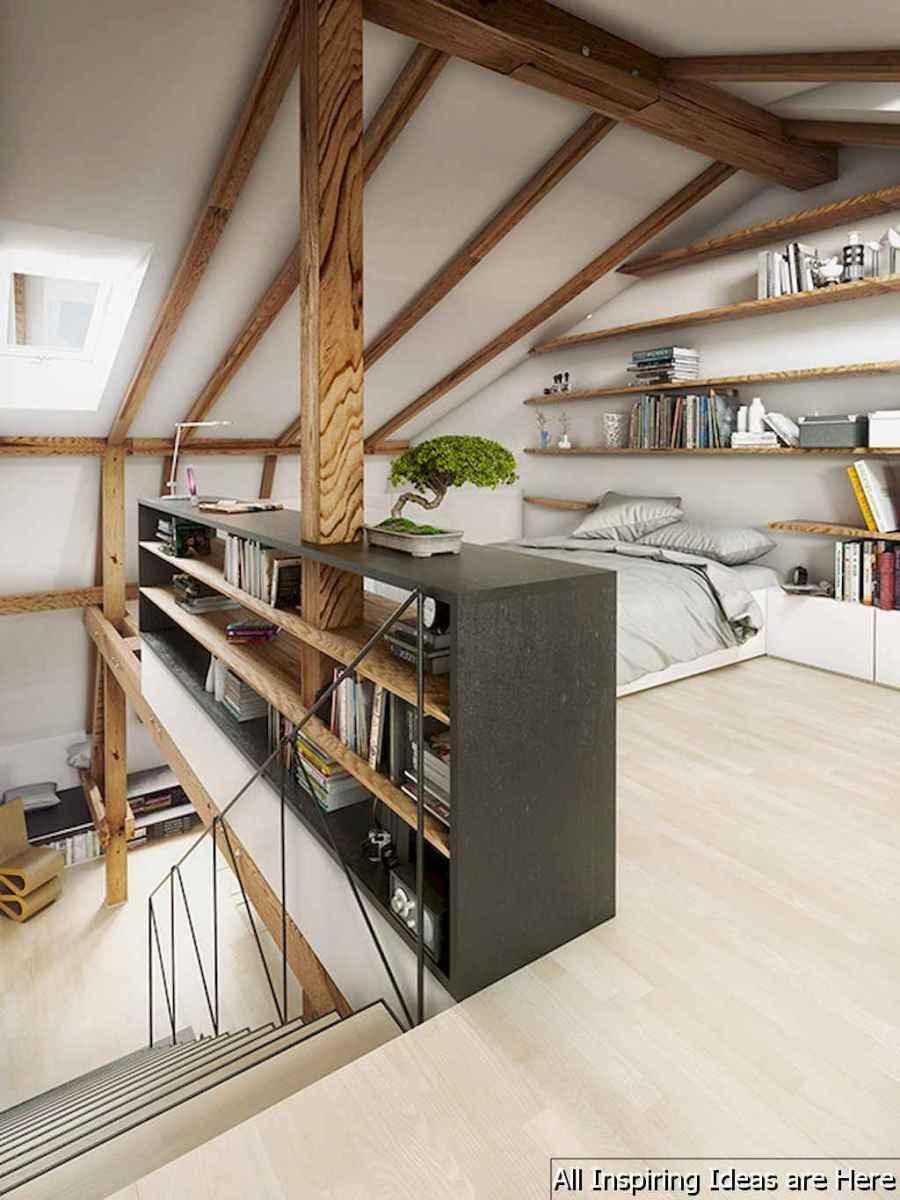 0046 stunning loft bedroom design ideas