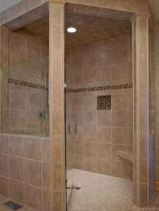0063 simple curbless shower ideas for your house