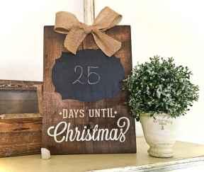 Adorable christmas signs design ideas handmade 0005
