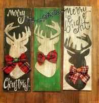 Adorable christmas signs design ideas handmade 0011