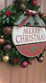 Adorable christmas signs design ideas handmade 0012