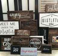 Adorable christmas signs design ideas handmade 0024