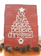 Adorable christmas signs design ideas handmade 0035