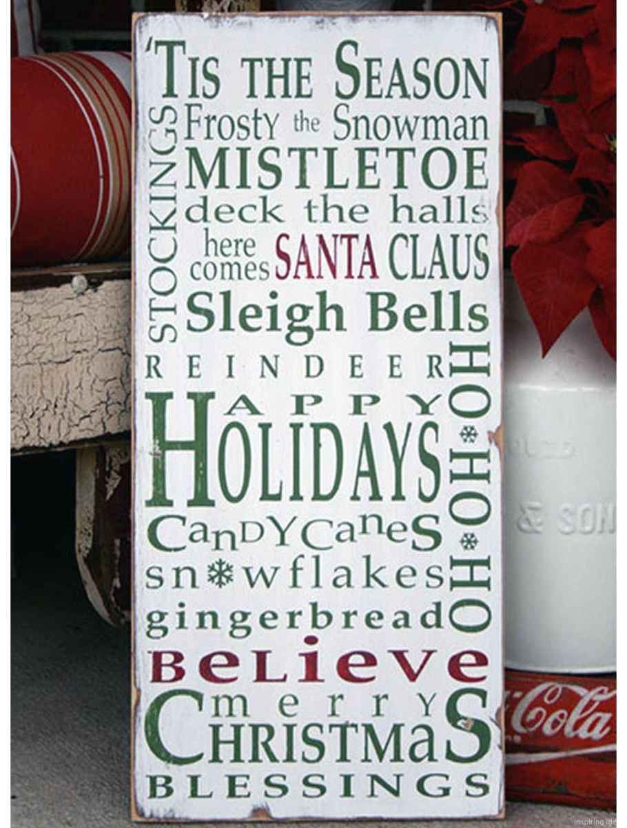 Creative christmas signs and saying ideas 0016