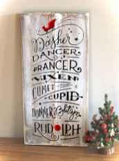 Nice diy christmas signs ideas on a budget 0021