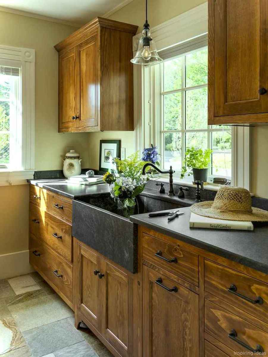 038 inspiring cottage kitchen cabinets ideas country style