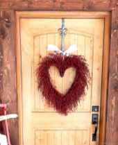 45 sweetest valentine wreaths ideas for your front door