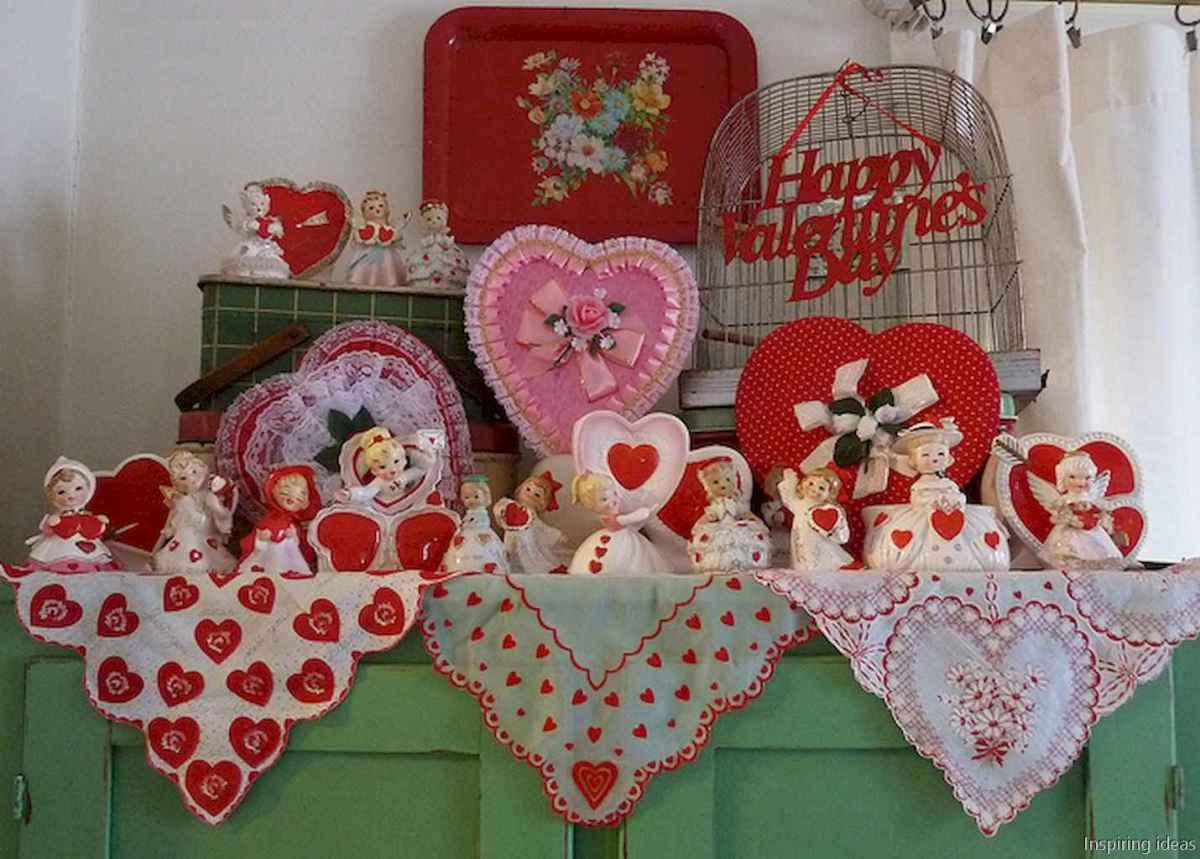 49 beautiful vintage valentine decorations ideas