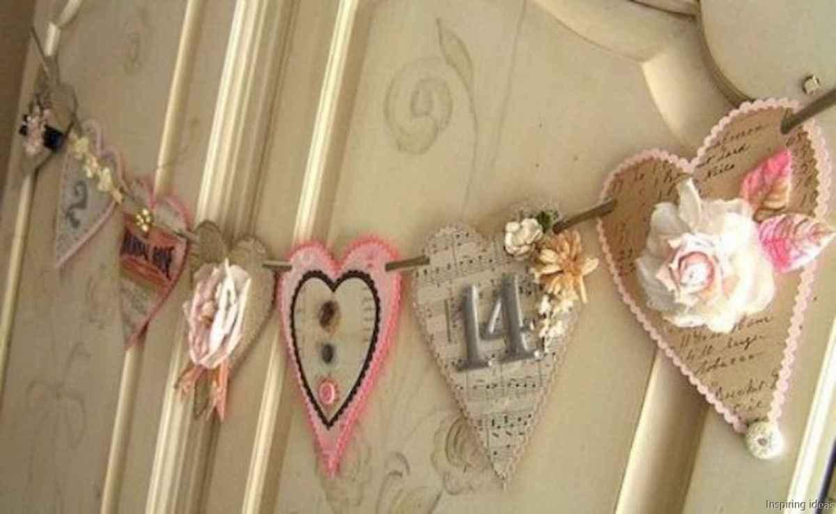 53 beautiful vintage valentine decorations ideas