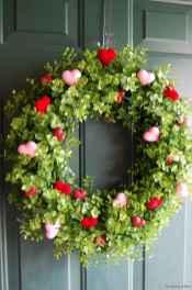 57 sweetest valentine wreaths ideas for your front door