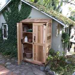 Clever garden shed storage ideas23