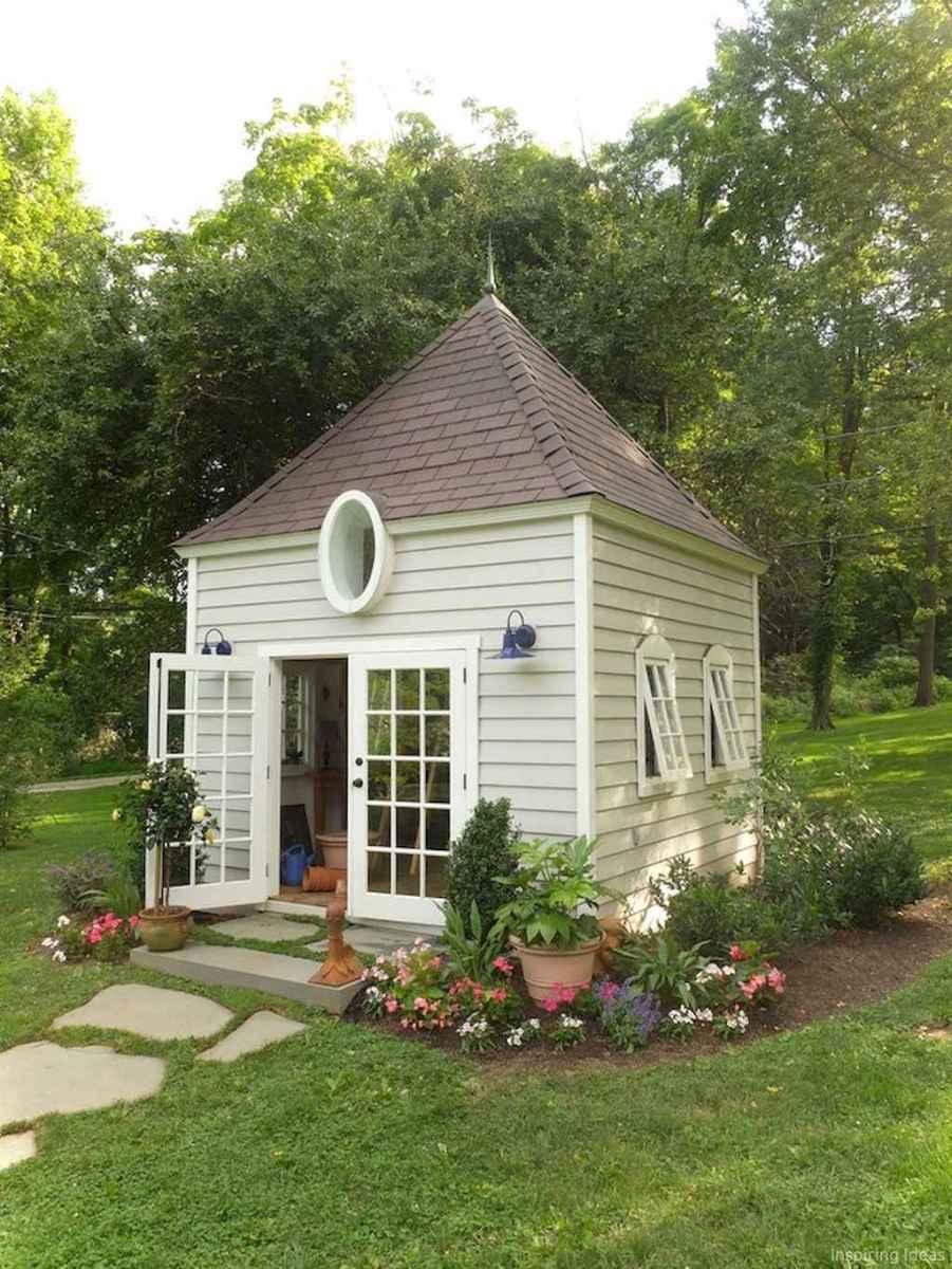 Clever garden shed storage ideas30
