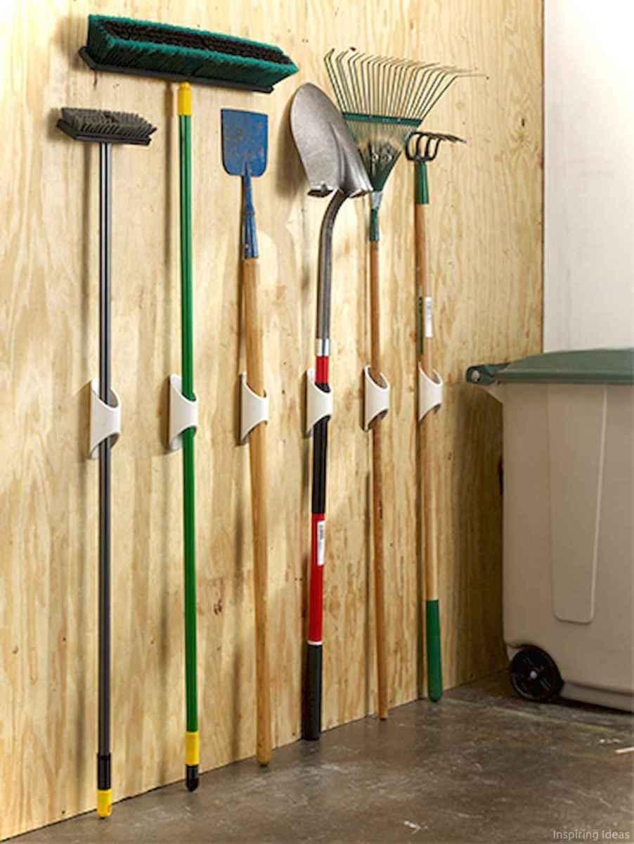 Clever garden shed storage ideas40