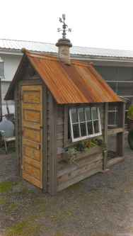 Clever garden shed storage ideas45