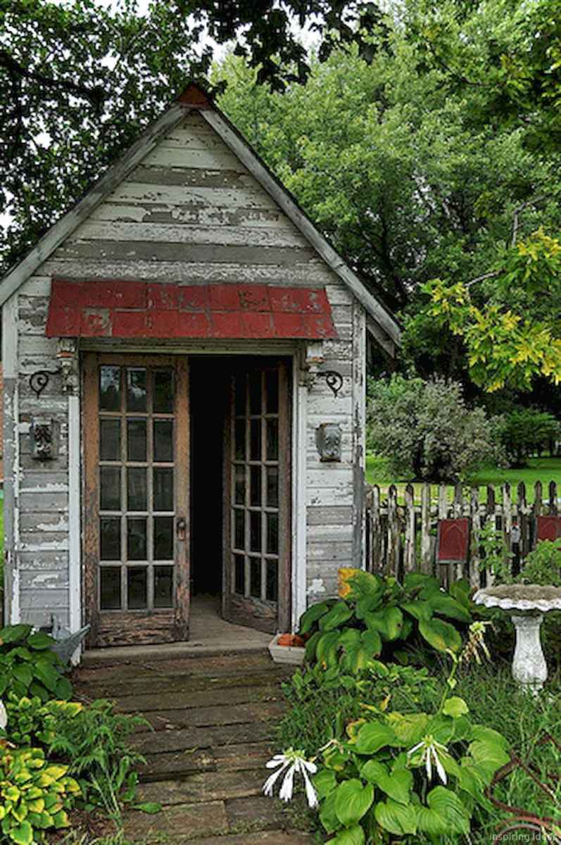 Inspiring garden shed ideas you can afford 20