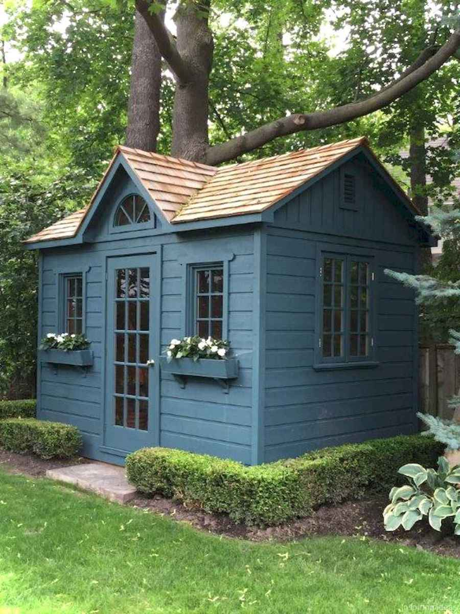 Inspiring garden shed ideas you can afford 5